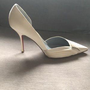 31f1541ac45 Christian Louboutin wedding heels - size 41